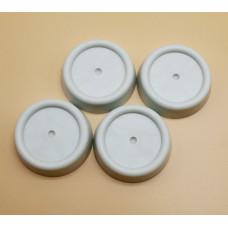 Подставки круглые антивибрационные силиконовые Filtero для Стиральных Машин Арт. 905