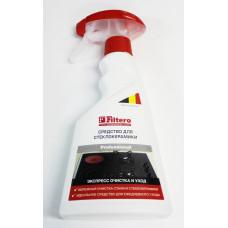 Средство для стеклокерамики Filtero. Экспресс-очистка и уход, 500мл, арт. 211
