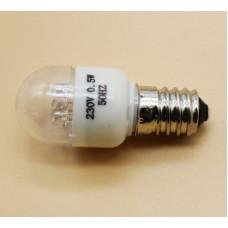 Лампа холодильника 230v 0.5w E14. HL164