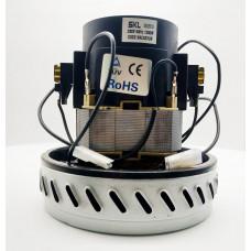 Двигатель пылесоса моющего 1200W 1-ступ H-145мм, D-146мм SK VAC027UN  зам: VAC000UN, A063400014, H020, 11me04, 54AS013