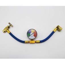 Шланг для заправки автокондиционера c манометром FC-BR801G50