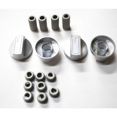 Ручки универсальные для плит, серебристые WL1030, 43CU008