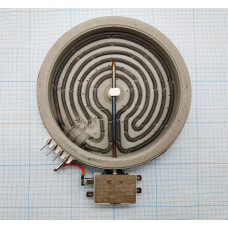 Конфорка пирокерамическая для стеклокерамических плит и варочных поверхностей диаметр: 165мм Мощность: 1200w COK153RU зам: 040001