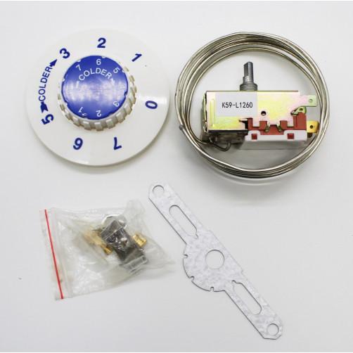 Термостат для холодильника K-59 2.5 L1260, зам. L851096, 62tf07, UG000516, 26243009
