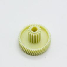 Шестеренка для мясорубки с метал. втулкой D45/17 зубья 54/16 косой/прямой