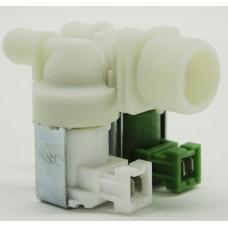 Клапан электромагнитный для стиральной машины - 2Wx180 (клеммы вместе, D-11/13mm, под фишки ELUX.). VAL021ZN, 1468766397, 1324416005