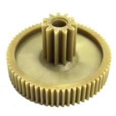 Шестеренка для мясорубки Помощница ISL6620 (D-66/20мм, зубья-65/11мм, прямой/прямой)