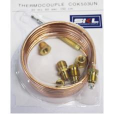 Термопара газконтроля, для плит, универсальная 150cm COK503UN